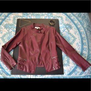 Harmony + Havoc Faux Leather Jacket